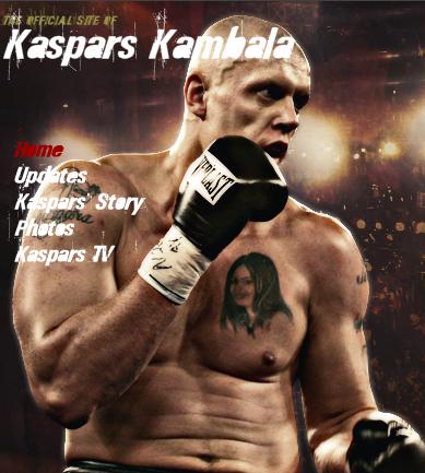 Der Header von Kambalas Webseite. Klick zur Homepage.
