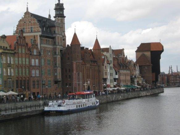 ... auch am Wasser - Stadtrundgang Gdansk (Danzig)