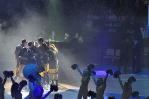 ALBA Teamhuddle. Photo: Christina Gerts
