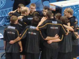 Huddle vor dem letzten Spiel