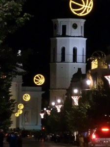 Nacht in Vilnius